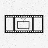 Tape reel design Stock Photos