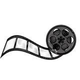 Tape reel film icon Royalty Free Stock Photo