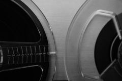 Tape reels Royalty Free Stock Image