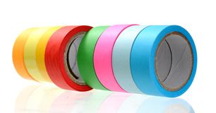 Tape roll Royalty Free Stock Image