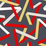 Tape seamless pattern Stock Photos