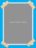 Taped frame Royalty Free Stock Images