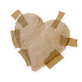 Taped Heart Royalty Free Stock Photography