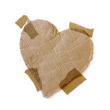 Taped Heart Royalty Free Stock Image
