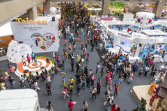 Tapei International Travel Fair exhibition Stock Photography