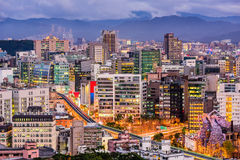 Tapei Taiwan Cityscape Royalty Free Stock Image