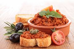 Tapenade Royalty Free Stock Photo