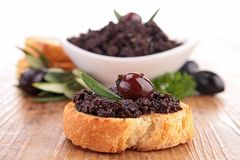 Tapenade Stock Photo