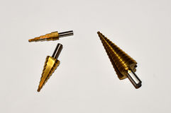 Tapered Drill Bits Stock Photo