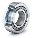 Tapered roller bearing with section Stock Photo
