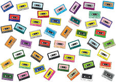 Tapes Collection Royalty Free Stock Image