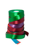 Tapes of different colour Royalty Free Stock Photography