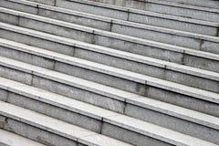 Étapes en pierre grises Photos libres de droits