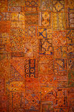 Tapestry authentic Indian style. Ethnic vertical background. Raj Stock Photos