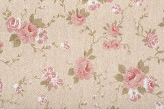 Tapestry, floral, romantic background Stock Image