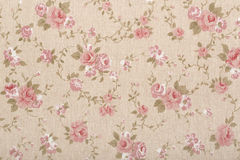 Tapestry pattern, floral, romantic background stock image