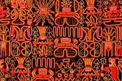 Tapestry. Souvenir from our trip to South America royalty free stock image