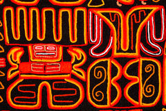 Tapestry. Souvenir from our trip to South America royalty free stock photos