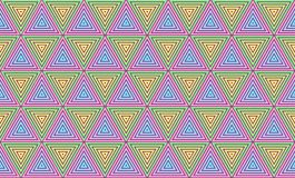 Tapet för bakgrund för geometrisk triangelmodell sömlös Royaltyfri Fotografi
