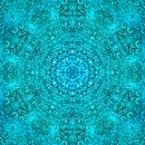 Tapet f?r symmetri f?r droppmodelltextur VATTENREGN royaltyfri illustrationer
