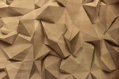 Tapet med den geometriska modellen royaltyfri illustrationer