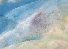 Tapeta morscy tematy w akwarela stylu lub tło ilustracja wektor