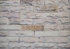 Tapeta surowy cegły płytki wzór Fotografia Royalty Free