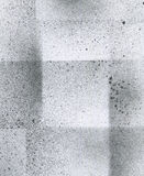 Tapeta z airbrush skutkiem Czarna akrylowej farby uderzenia tekstura na białym papierze Rozrzucona borowinowa sztuka Nowy uwolnie Zdjęcia Stock