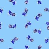 Tapeta z błękit ryba Fotografia Stock