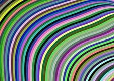Tapeta z geometrycznym elementu projektem z kolorami i przypadkowym układem Zdjęcia Stock
