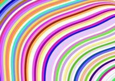 Tapeta z geometrycznym elementu projektem z kolorami i przypadkowym układem Zdjęcia Royalty Free