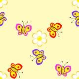 Tapeta z motylami Zdjęcie Stock
