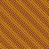 TapetBatik Parang Soga Yogyakarta Arkivfoton