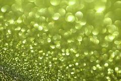 Tapete da efervescência das pepitas de ouro Opinião do close-up, muito rasa profundamente do campo Macro Imagens de Stock