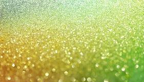 Tapete da efervescência das pepitas de ouro Opinião do close-up, muito rasa profundamente do campo Macro Imagem de Stock