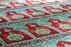 Tapete da oração da mesquita Imagem de Stock