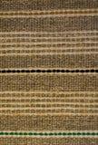 Tapete de tecelagem áspero para o assoalho imagens de stock