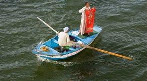 Tapete do Sell em um barco fotos de stock royalty free