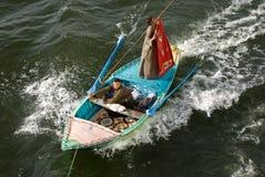 Tapete do Sell em um barco imagens de stock royalty free
