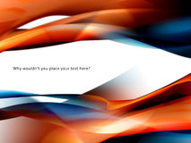 Tapete, Hintergrundbeschaffenheit mit orange Rauche Stockbild