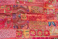 Tapete indiano dos retalhos Imagens de Stock Royalty Free