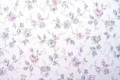 Tapete mit Blumen Lizenzfreies Stockfoto