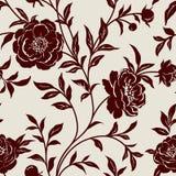 Tapete mit Blumen Stockbilder