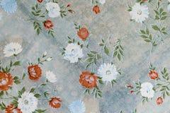 Tapete mit Blumen Lizenzfreies Stockbild
