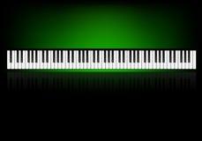 Tapete mit Klavier Lizenzfreie Stockfotos