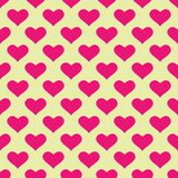 Tapete mit rosafarbenen Inneren stock abbildung