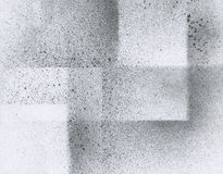 Tapete mit Spritzpistoleneffekt Schwarze Acrylfarben-Anschlagbeschaffenheit auf Weißbuch Zerstreute Schlammkunst Neuerscheinung n Lizenzfreies Stockfoto