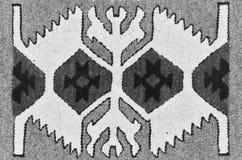 Tapete romeno tradicional velho de lãs Fotos de Stock Royalty Free