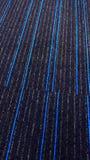 Tapete textured bonito com linhas azuis imagens de stock royalty free