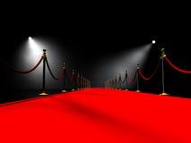Tapete vermelho Imagens de Stock Royalty Free